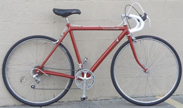 961f6dd64c0 53cm Vintage CANNONDALE ST400 Shimano 600 Ultegra Touring Road Bike  ~5'5