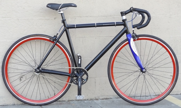 55cm MARIN Inverness Aluminum Single Speed Urban Track Road Bike ~5 ...