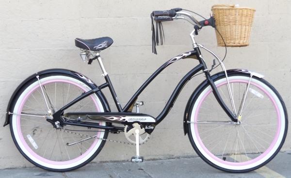 Medium Electra Betty 3 Speed Nexus Beach Cruiser Bike 5 2