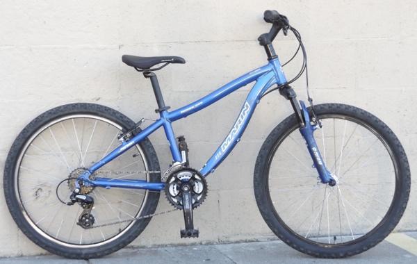Xs 24 Wheel Marin Bayview Trail Aluminum Mountain Bike 4 9 5 0