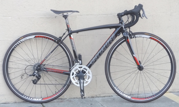 "Continental Bicycle Tires >> 49cm SPECIALIZED Allez Evo Aluminum Carbon Sram Rival Road Bike ~4'11""-5'2"""