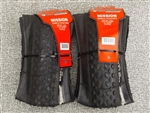 650B x 2.1 Vee Rubber Mission knobby folding tires pair new NIB