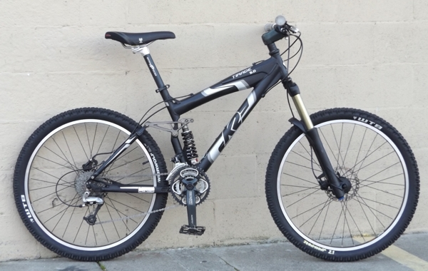 Medium K2 Tirade 50 Fox Xt Full Suspension Mountain Bike 57 510