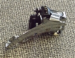 8 speed Shimano Acera-X FD-M330 triple front derailleur 31.8 top pull