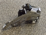 8 speed Shimano Acera-X FD-M330 triple front derailleur 28.6 top pull