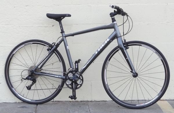 20 Quot Trek Fx 7 6 Aluminum Carbon Hybrid Bike 5 9 Quot 6 0 Quot