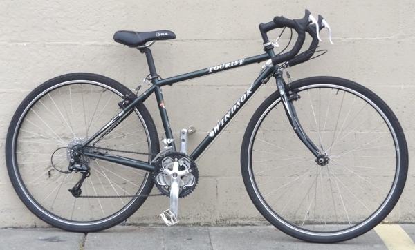 43cm Windsor Tourist Cro Moly Touring Road Bike 5 2 5 6