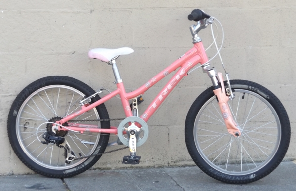 "20"" Wheel TREK MT60 Suspension 6 Speed Kids Bike ~Ages 5-9"