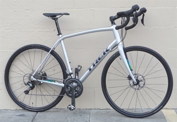 "58cm TREK Domane ALR 4 Aluminum Carbon Hydro Disc Endurance Road Bike ~5'11""-6'2"""