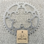 46t x 130/74 bcd triple converter aluminum chainring new nos