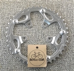 42t x 74 bcd 9 speed steel chainring