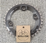 36t x 96 asymmetrical bcd Shimano Dyna-Sys 11 speed aluminum chainring