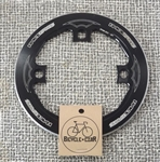 165mm diameter x 104 bcd Race Face Diabolus 36t bashguard aluminum chain guard black