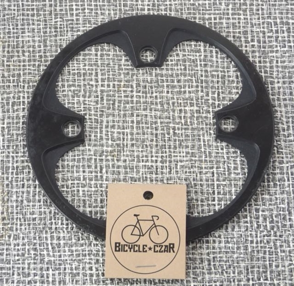 148mm diameter x 104 bcd plastic bashguard chain guard black