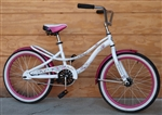 "20"" Wheel SCHWINN Heart Single-Speed Cruiser Kids Bike ~Ages 5-8"