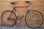"58cm REG HARRIS Single-Speed Steel Campy Brooks Nitto City Bike ~5'11""-6'2"""