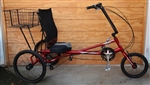 "Medium SUN Bicycles X-3 SX Commuter Recumbent Trike ~5'2""-6'2"""