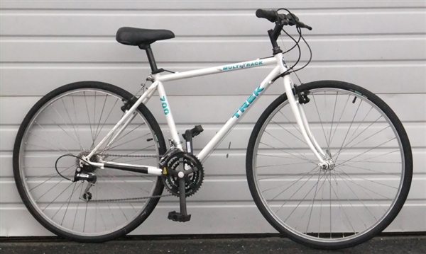 17 5 Quot Trek 700 Multitrack 21 Speed Utility Bike 5 4 Quot 5 7 Quot