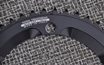 42t x 144 bcd Miche Advanced aluminum chainring black