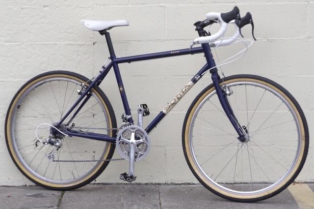 52cm SOMA Saga Steel Touring 650B Road Gravel Adventure Bike ~5\'5\
