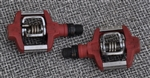"Crank Brothers Candy C clipless mountain pedal 9/16"" red"