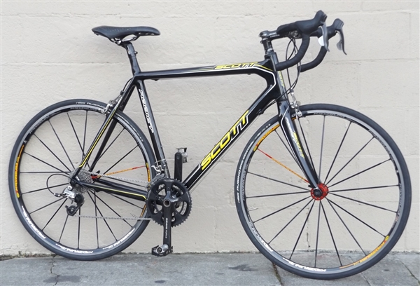"59cm SCOTT Addict Carbon Mavic Ksyrium Road Bike ~5'11""-6'2"""