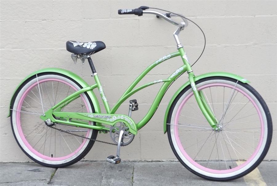 Medium Electra Hawaii 3 Speed Nexus Beach Cruiser Bike 50 58
