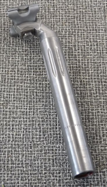 27.2 x 215mm Campagnolo Super Record aluminum seatpost